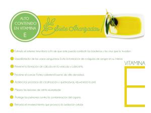 Olivar de Ana y la vitamina E